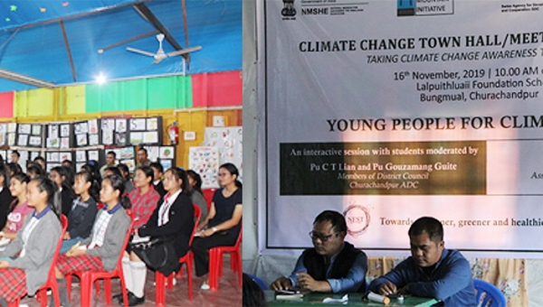 Meet your Legislator: Climate Change townhall in Churachandpur, Manipur