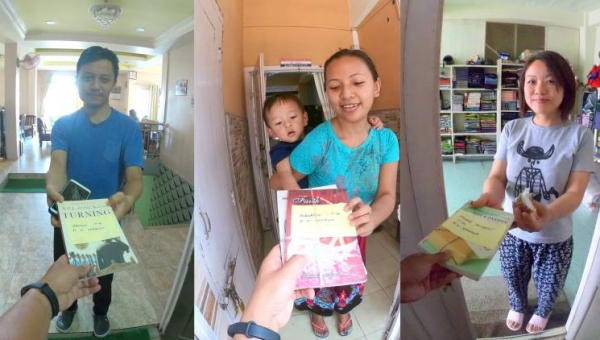 Lockdown library: Aizawl locality turns new page with doorstep delivery of books