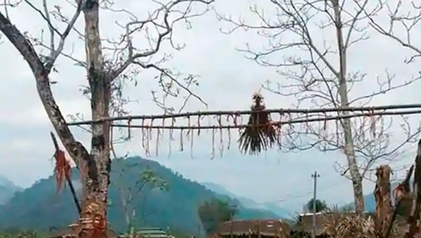 Social distancing is aided by age-old rituals in Arunachal