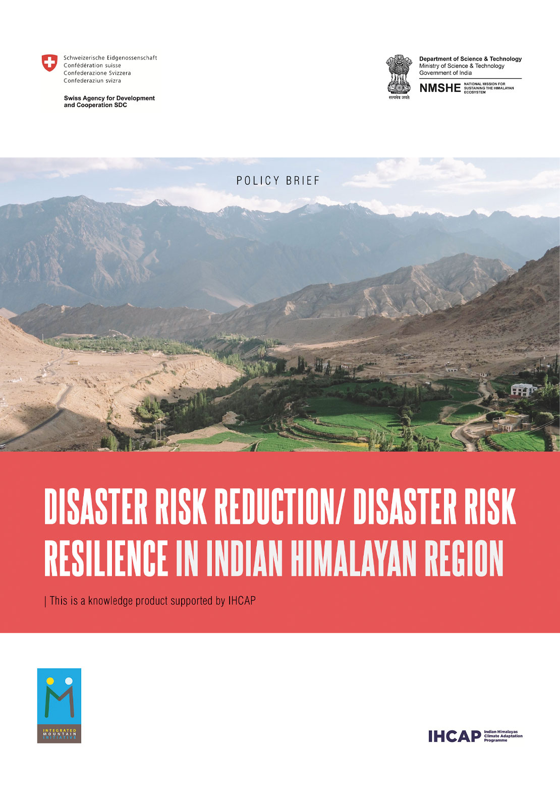 DRR IMI Policy Brief